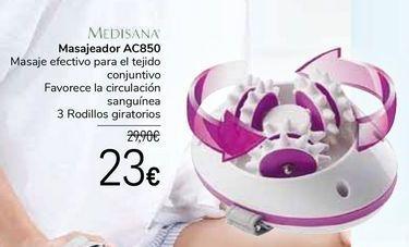 Oferta de MEDISANA Masajeador AC850 por 23€