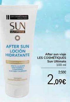 Oferta de After sun viajes LES COSMÉTIQUES Sun Ultimate por 2,09€