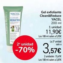 Oferta de Gel exfoliante Clean&Reduce por 11,9€