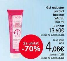 Oferta de Gel reductor perfect booster YACEL  por 13,6€