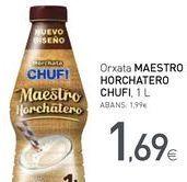 Oferta de Horchata MAESTRO HORCHATERO CHUFI por 1,69€