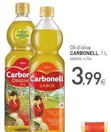 Oferta de OIi d'oliva CARBONELL por 3,99€