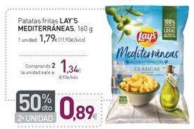 Oferta de Patatas fritas LAY'S MEDITERRÁNEAS  por 1,79€