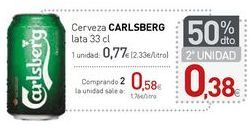 Oferta de Cerveza CARLSBERG por 0,77€