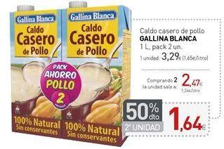 Oferta de Caldo casero de pollo GALLINA BLANCA por 3,29€