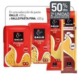 Oferta de En una selección de pasta GALLO, y GALLO PASTA FINA por