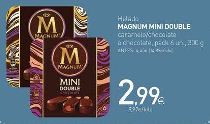Oferta de Helado MAGNUM MINI DOUBLE por 2,99€