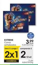 Oferta de EXTREME Conos señalizados por 3,99€