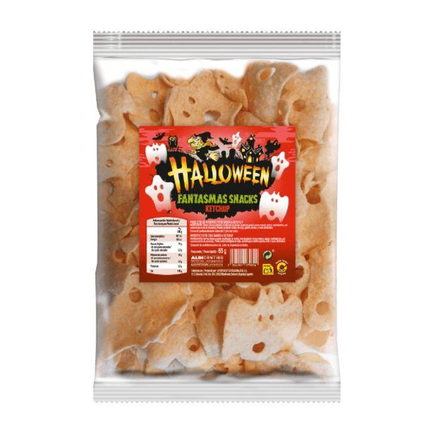 Oferta de Aperitivo con forma de fantasmas sabor ketchup por 0,99€