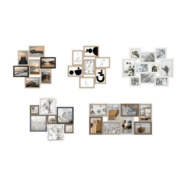 Oferta de Marcos de foto collage por 12,99€