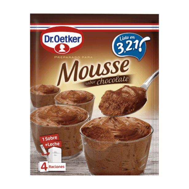 Oferta de Mousse sabor chocolate por 1€