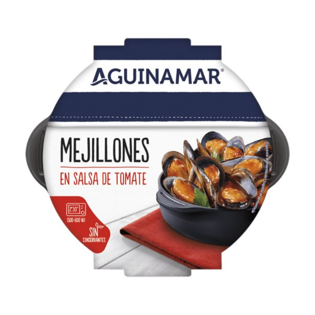 Oferta de Mejillones en salsa de tomate por 3,2€