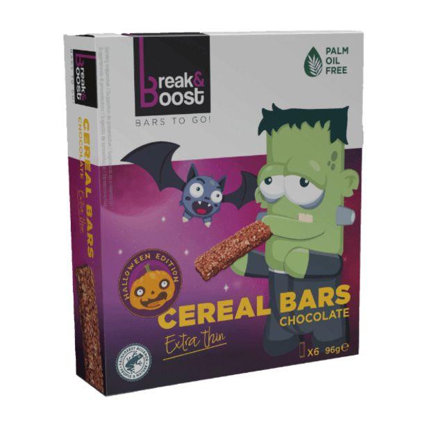 Oferta de Barritas de cereales con chocolate por 0,99€