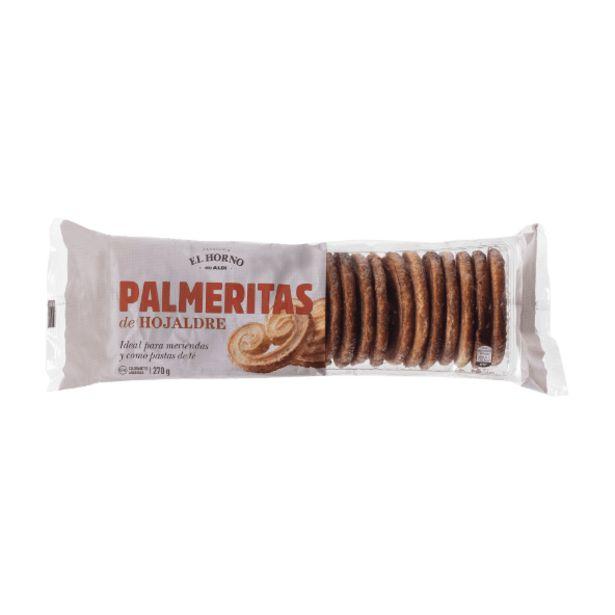 Oferta de Palmeritas de hojaldre por 0,65€