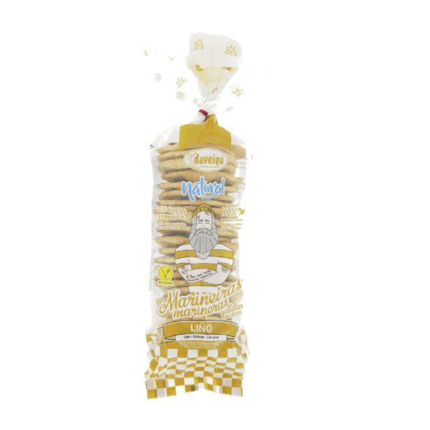 Oferta de Galletas marineras de semillas de lino natural por 1,79€