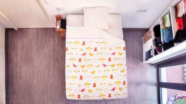 Oferta de Funda de edredón y almohada reversible por 12,99€