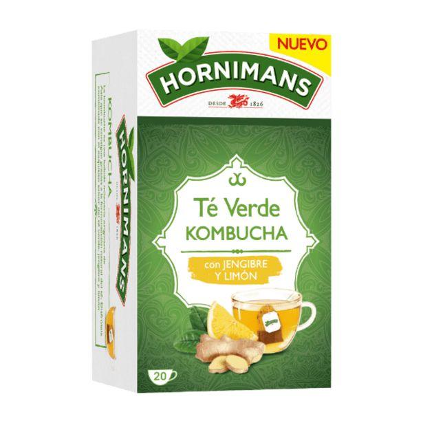 Oferta de Té verde kombucha con jengibre y limón por 1,99€