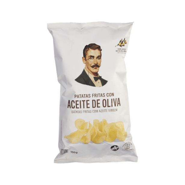 Oferta de Patatas fritas con aceite de oliva virgen por 0,69€