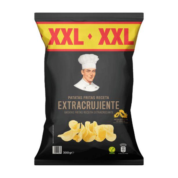 Oferta de Patatas fritas extra crujientes XXL por 1,69€