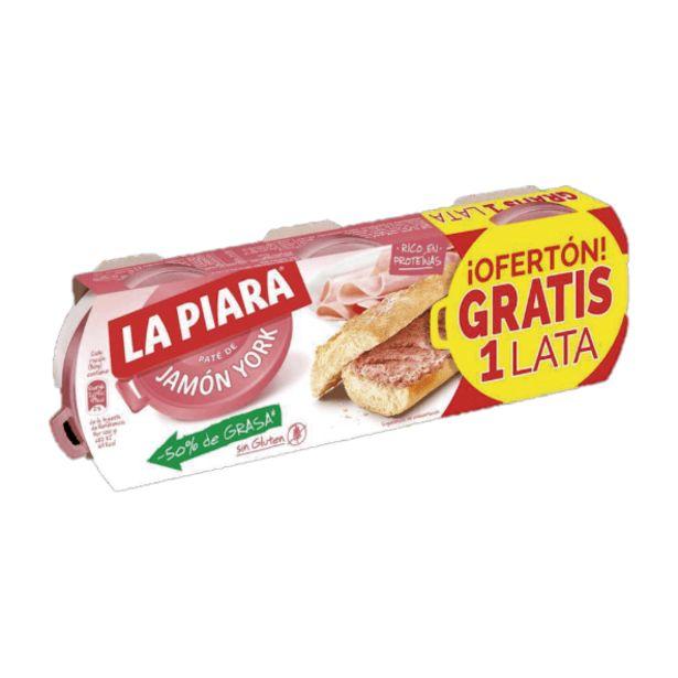 Oferta de Paté de jamón york por 2,95€