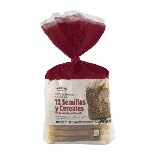 Oferta de Pan de molde 12 semillas y cereales por 1,19€