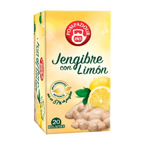 Oferta de Infusión de jengibre con limón por 1,99€