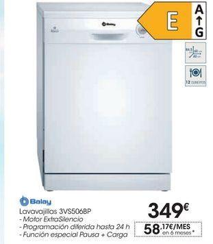 Oferta de Lavavajillas 3VS506BP por 349€