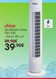 Oferta de Ventilador torre TW1100 por 39,9€