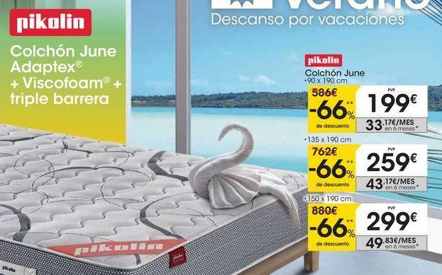 Oferta de Colchón June Pikolin por 199€