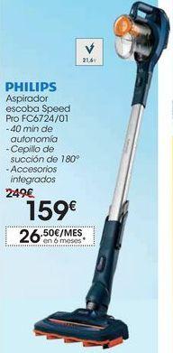 Oferta de Aspirador escoba Speed Pro FC6724/01 por 159€