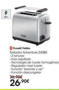 Oferta de Tostador Adventure 24080  por 26,9€
