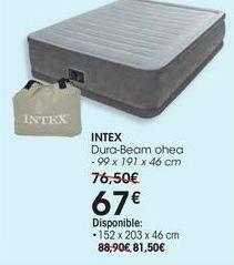 Oferta de INTEX Dura-Beam ohea-99 x 191 x 46 cm por 67€