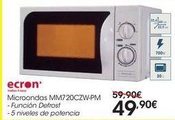 Oferta de Microondas MM720CZW-PM por 49,9€