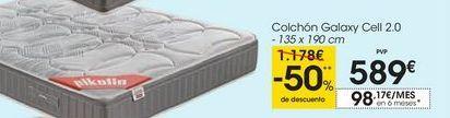 Oferta de Colchón Galaxy Cell 2.0 por 589€
