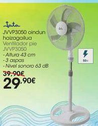 Oferta de Ventilador pie JVVP3050 por 29,9€