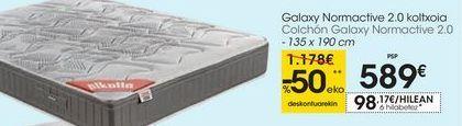 Oferta de Colchón Galaxy Normactive 2.0 por 589€
