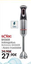Oferta de Batidora BA5608 Acero inoxidable por 27,9€