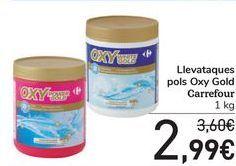 Oferta de Quitamanchas polvo Oxy Gold Carrefour  por 2,99€