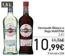 Oferta de Vermouth Blanco o Rojo MARTINI  por 10,99€