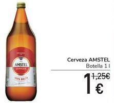 Oferta de Cerveza AMSTEL  por 1€