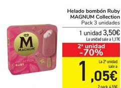 Oferta de Helado bombón Ruby MAGNUM Collection por 3,5€