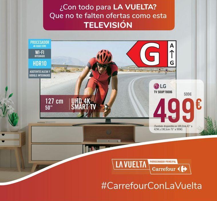 Oferta de TV 50UP78006 LG por 499€