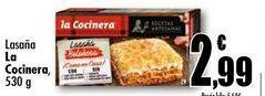 Oferta de Lasaña La Cocinera, 530g por 2,99€