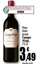 Oferta de Vino tinto joven Campo Viejo, 75cl por 3,49€