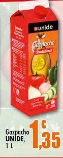 Oferta de Gazpacho Unide, 1 L por 1,35€