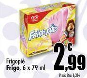 Oferta de Frigopie Frigo, 6 x 79 ml por 2,99€