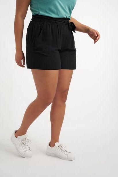 Oferta de Shorts de viscosa con cinto por 17,5€