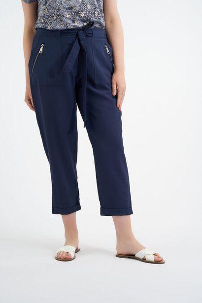 Oferta de Pantalones con cinto por 20€