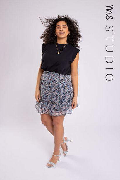 Oferta de Falda con estampado por 15€