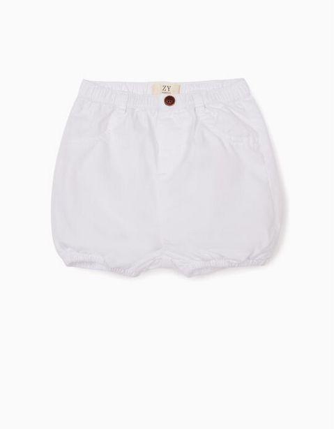 Oferta de Short para Recién Nacido, Blanco por 7,99€